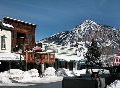undergound ski events Eldo Bar Crested Butte Colorado
