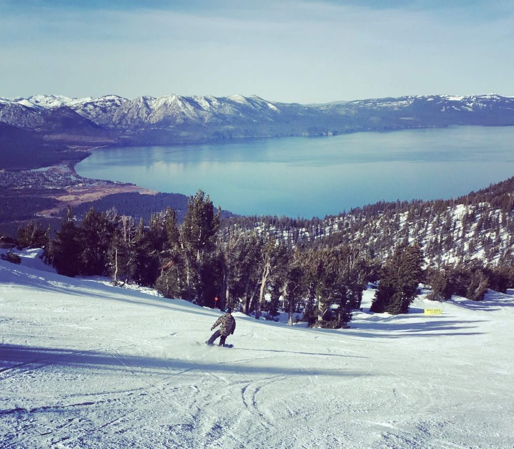 largest snowmaking systems in North America Heavenly Mountain Resort South Lake Tahoe California