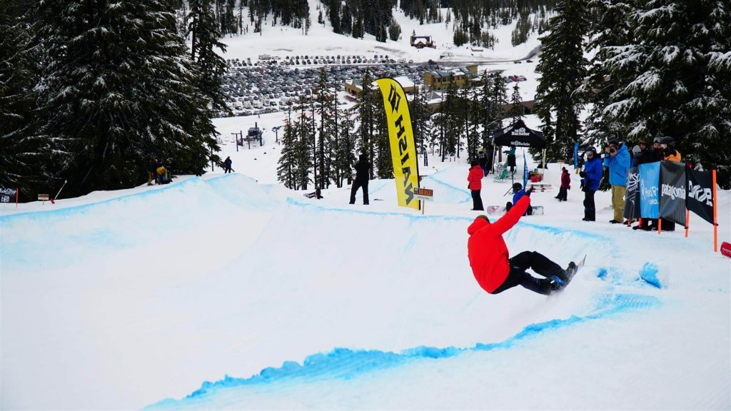 Grassroots Snowboard Contest Mt Bachelor Ski Resort