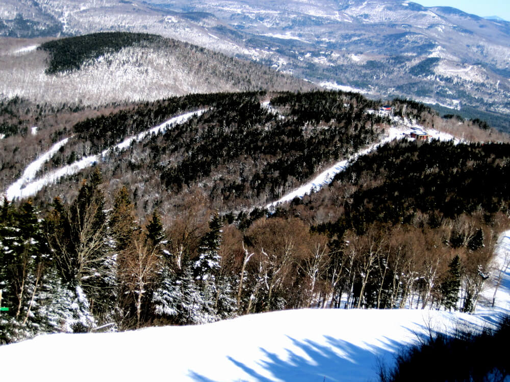 largest snowmaking systems in North America Sunday River Maine