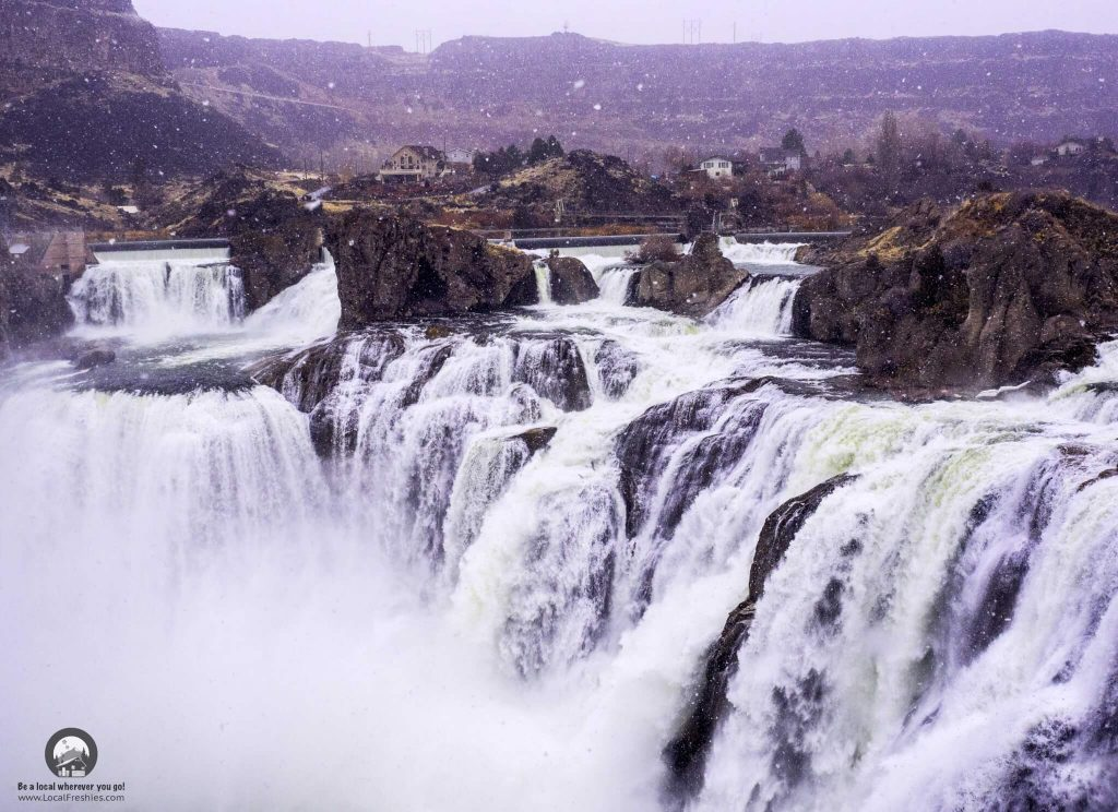 Shoshone Falls Winter