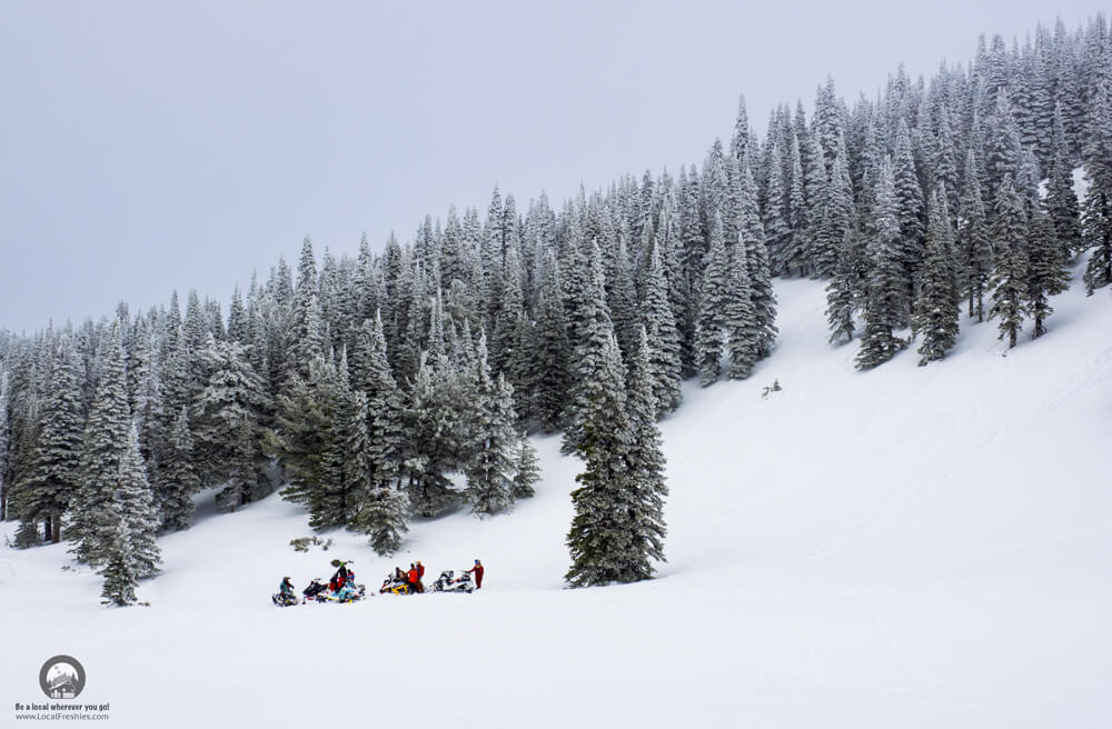 Pomerelle Backcountry Snowmobiling Southern Idaho