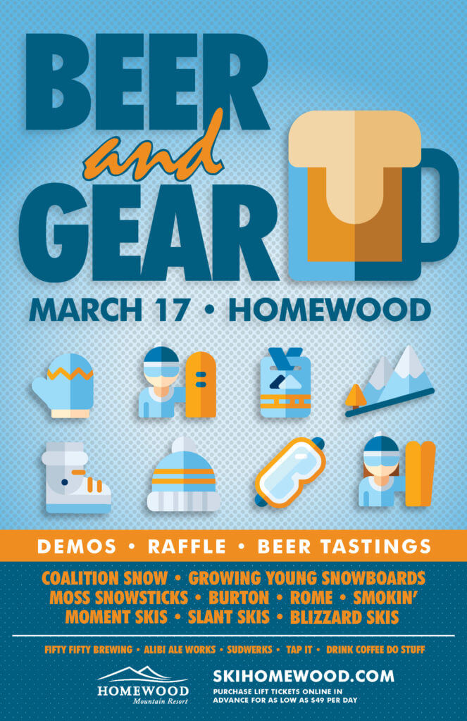Homewood Mountain Beer and Gear