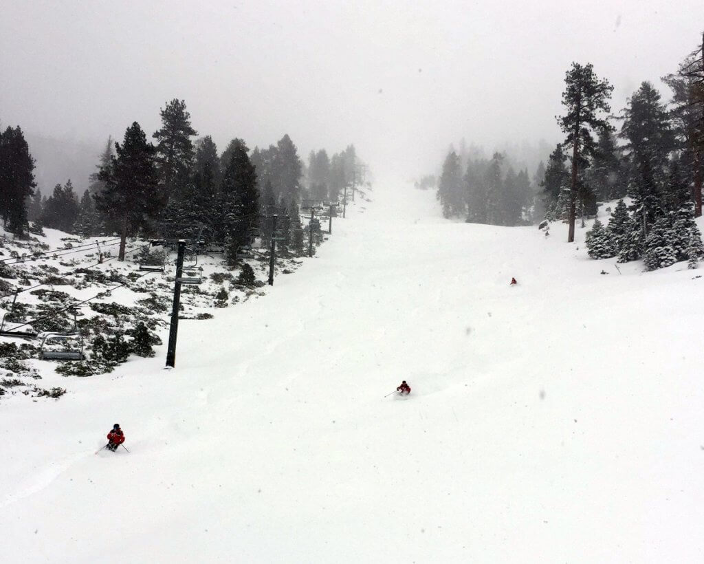 Heavenly Ski Patrol Gun Barrel Miracle March 2018 South Lake Tahoe
