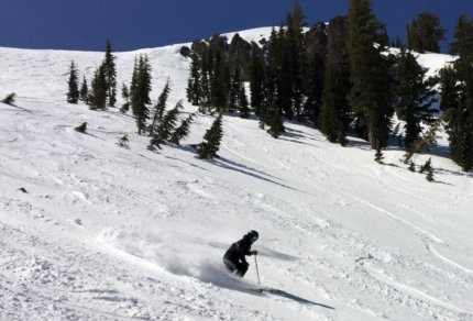 Alpine Meadows Spring Skiing Lake Tahoe California