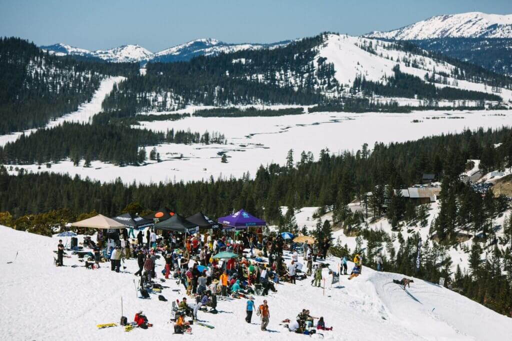 Rally for Rocker 2018 Banked Slalom Donner Summit