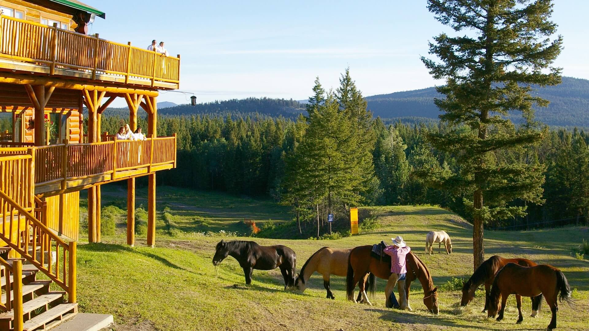all-inclusive resort Spruce Hill Resort British Columbia