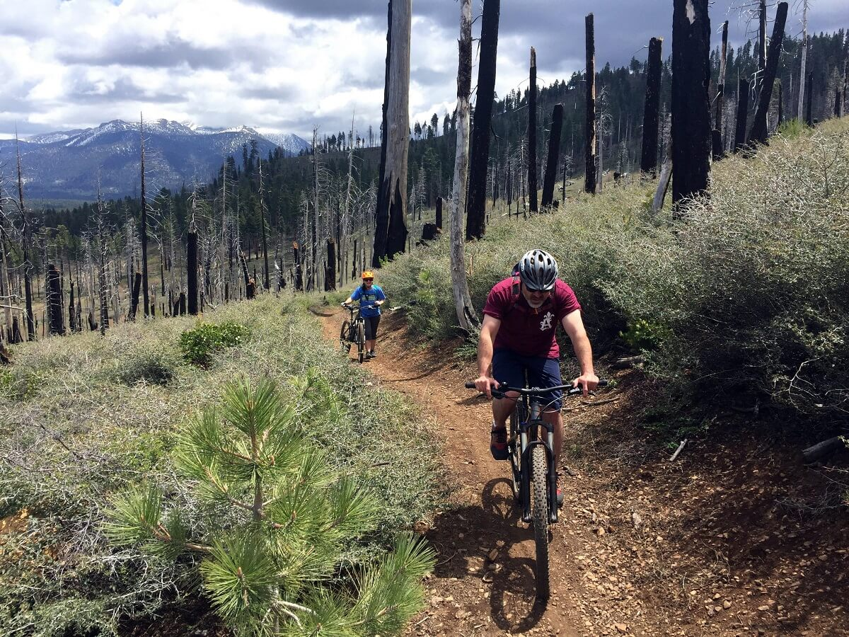 Tahoe Mountain Biking Trimmer Peak