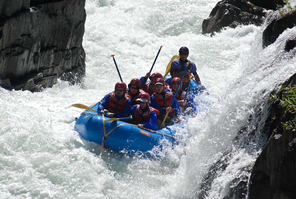American River Middle Fork River Best Whitewater Rafting Rivers in US