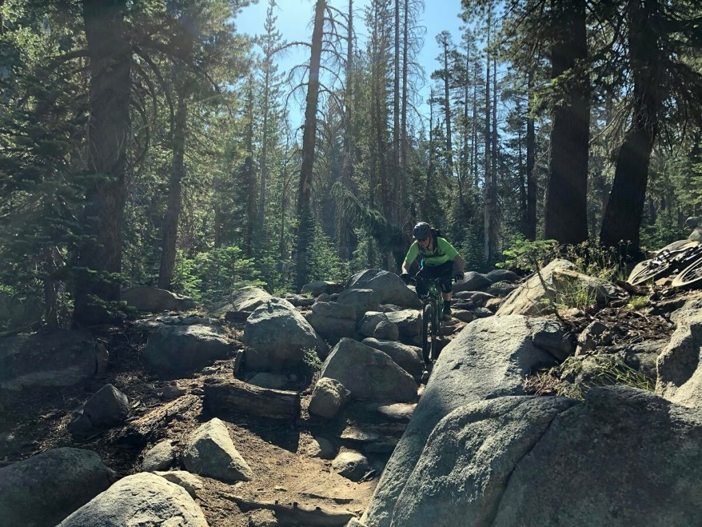 Mr Toad's Wild Ride Saxon Creek Trail Lake Tahoe Mountain Biking