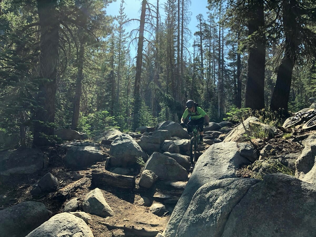 Mr Toad's Wild Ride Lake Tahoe Mountain Bike Trail Guide