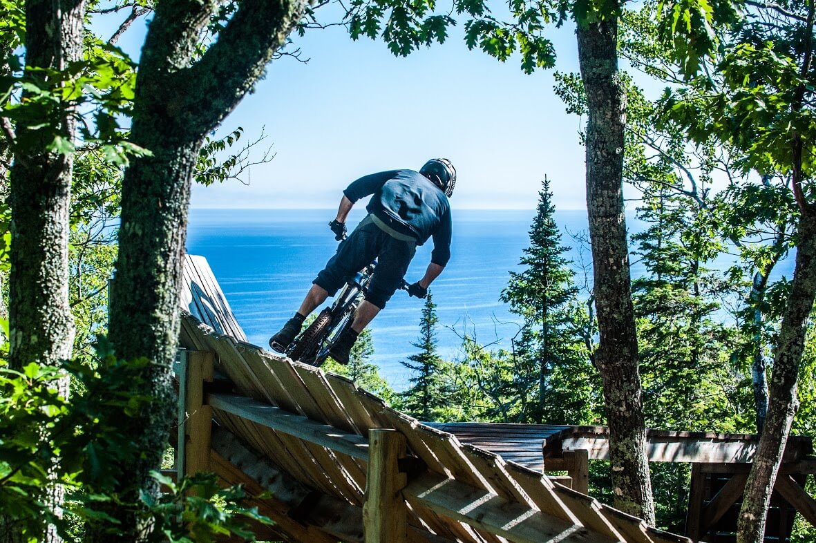 Hidden Mountain Biking Destinations Copper Harbor Michigan UP Upper Peninsula Lake Superior