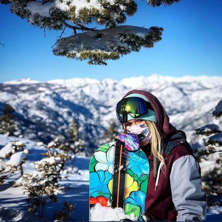 Aloha Snowboards made in the US Lake Tahoe