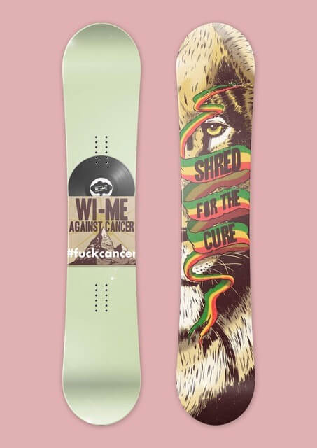 Wi-Me Snowboards Made in the US Sugarloaf Maine