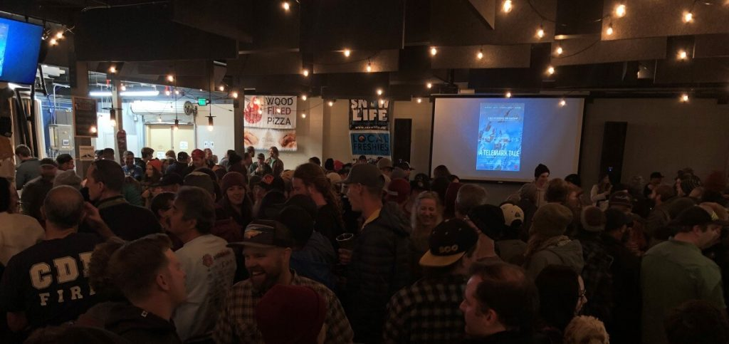 Lord Of The Boards A Telemark Tale Premiere South Lake Tahoe South Lake Brewing Company