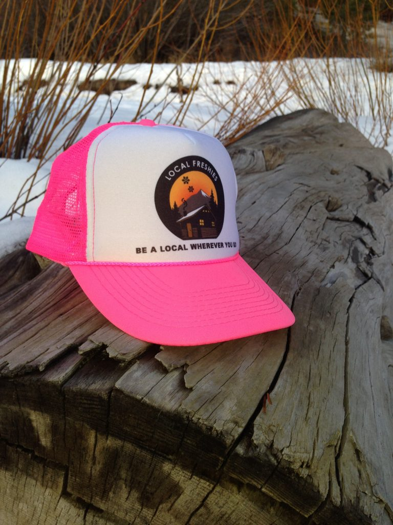 Local Freshies Trucker Hat Pink