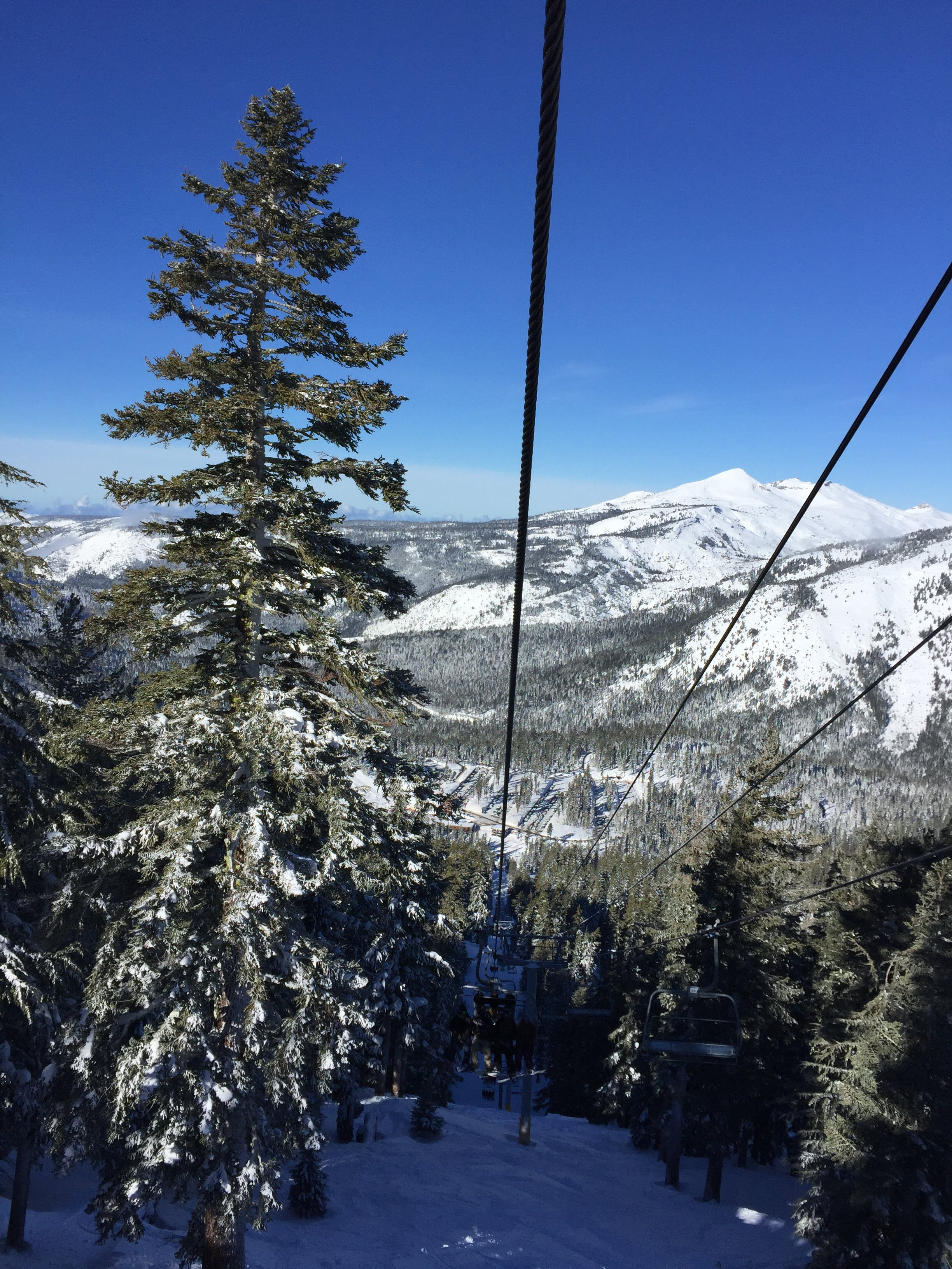 Sierra-at-Tahoe Travel Guide Chairlift winter snow