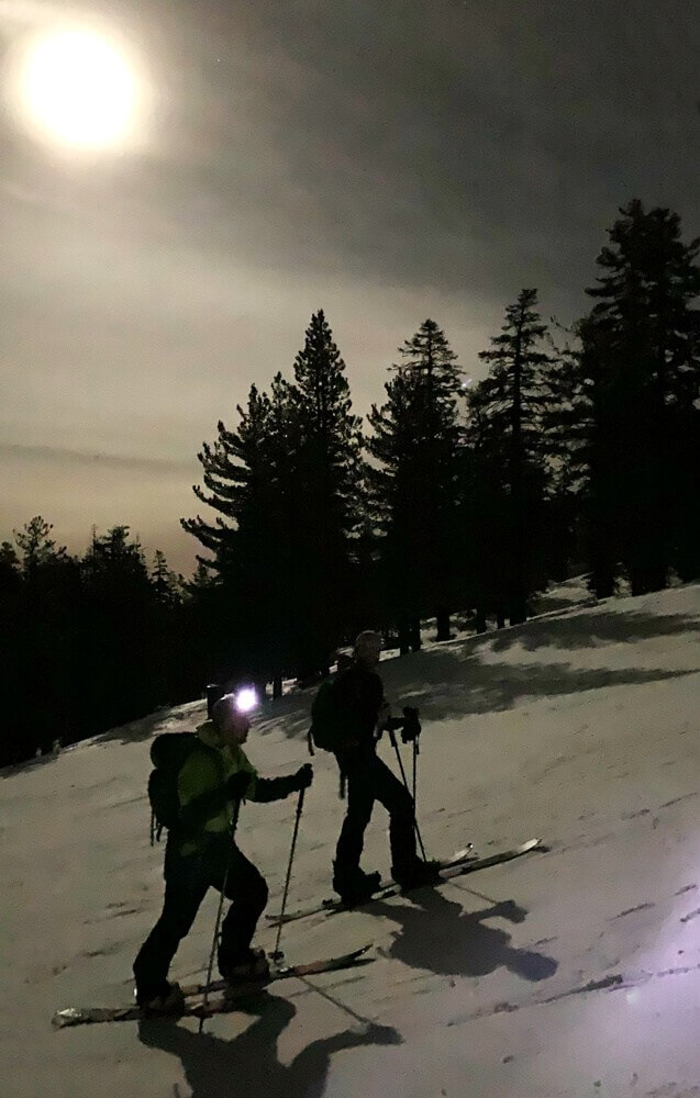 Full Moon Skin Backcountry Skiing Splitboarding Lake Tahoe