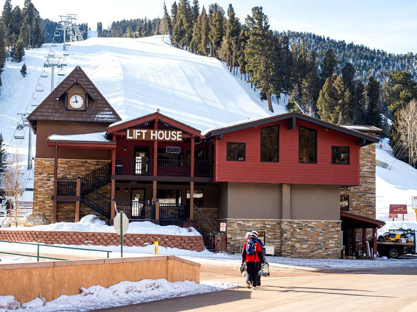 The Lift House at Red River Ski Area