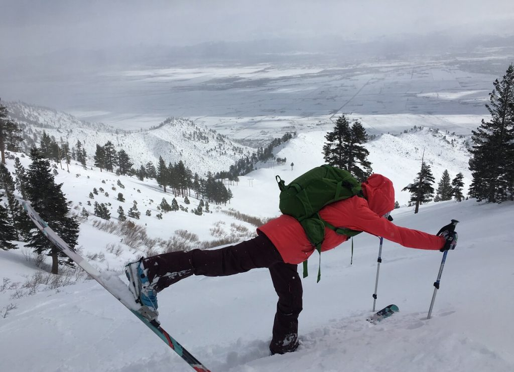 Lake Tahoe Sidecountry Lake Tahoe Yoga Skiing