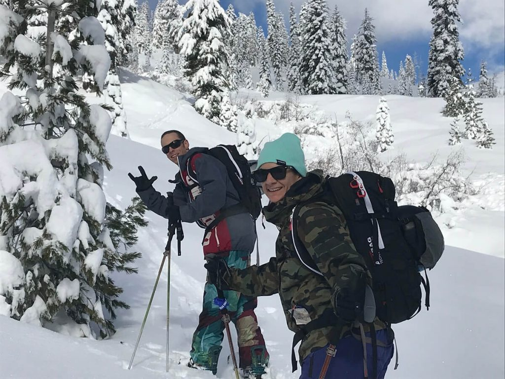 Lassen National Park Backcountry Skiing Splitboarding Skinning Cascade Mountain