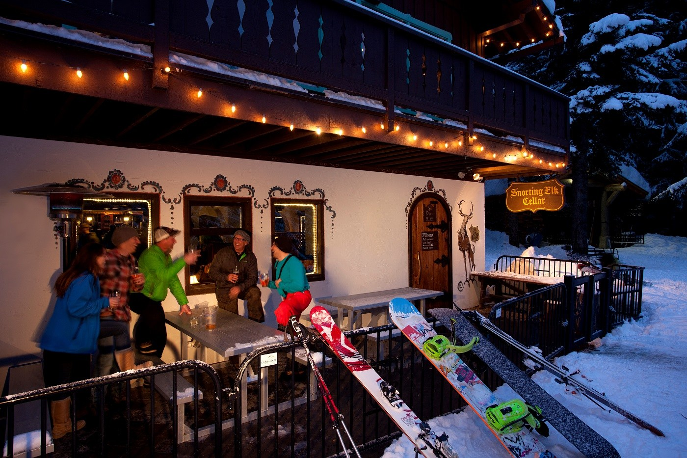 Snorting Elk Cellar Most Unique Ski Town Drinks