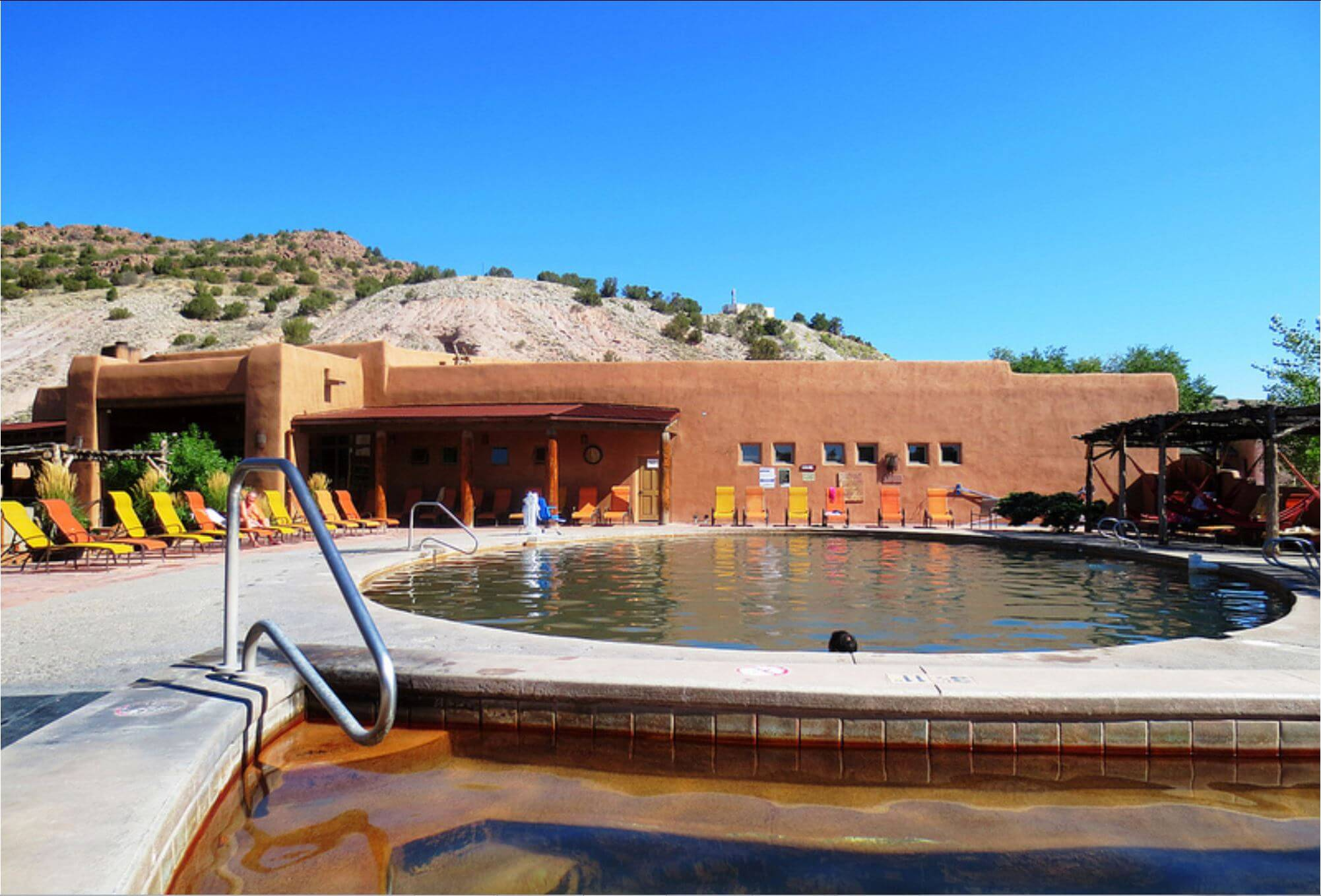 Ojo Caliente one of the best hot spring in the US