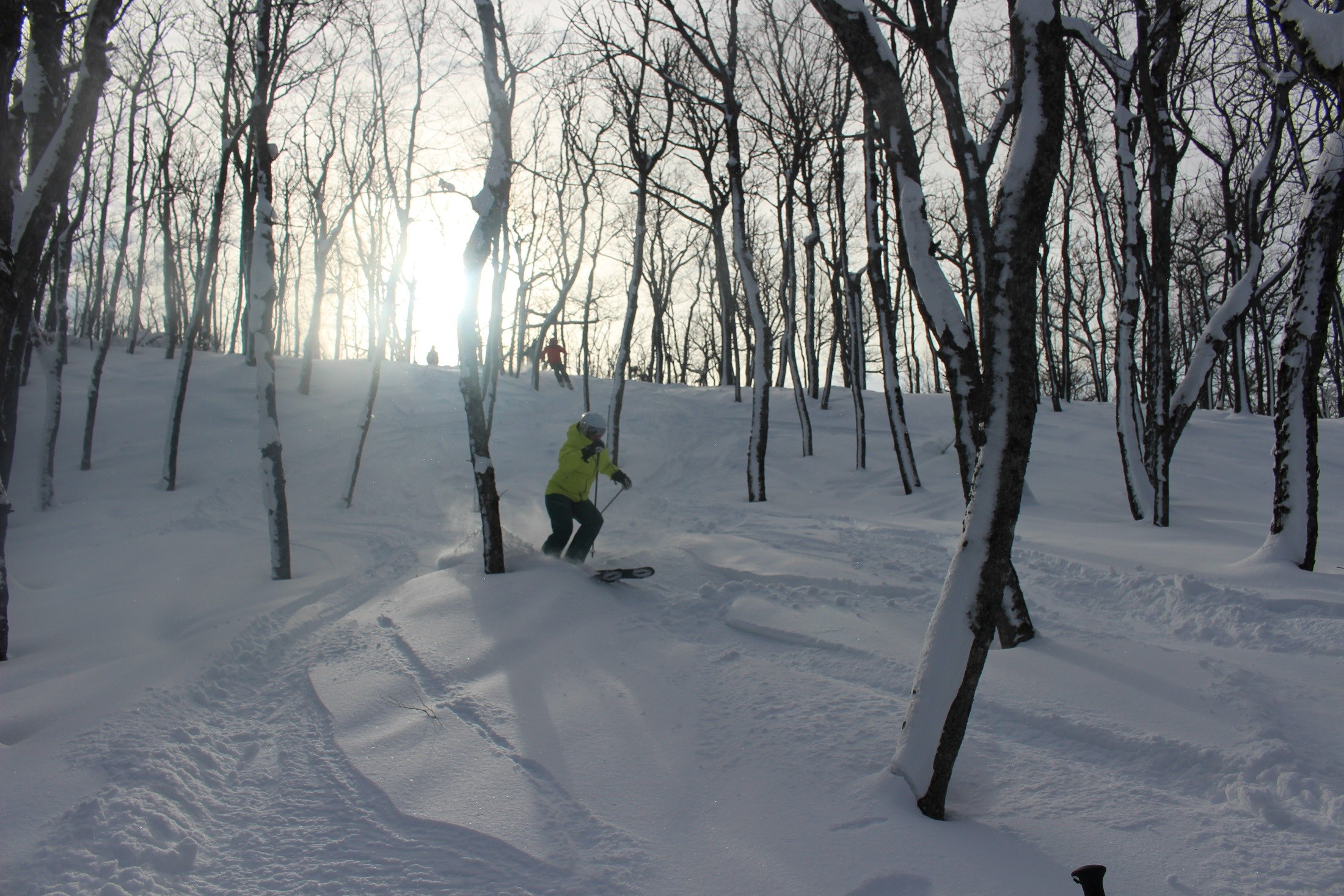 Voodoo Mountain midwest cat skiing Upper Peninsula Michigan skiing
