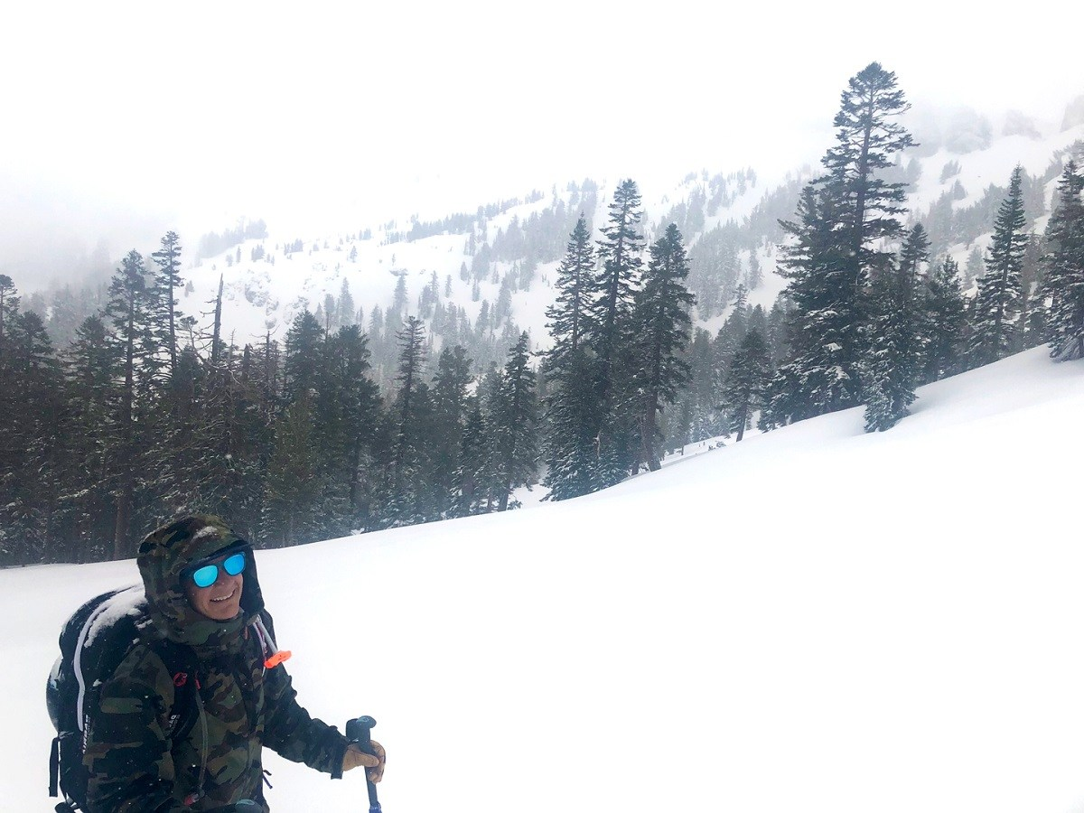 May Skiing leads to a DEEP powder day in the Lake Tahoe Backcountry during a big storm