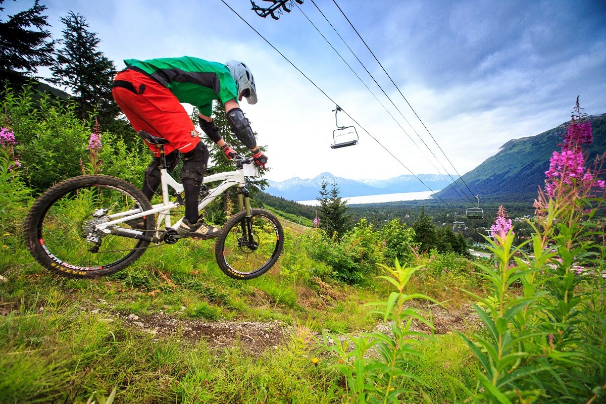 Best Ski Towns To Visit In The Summer Girdwood Alaska Alyeska Resort Mountain Biking
