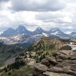 Grand Targhee Mountain Biking Wyoming Summer Norco Driggs Idaho Summit Grand Tetons
