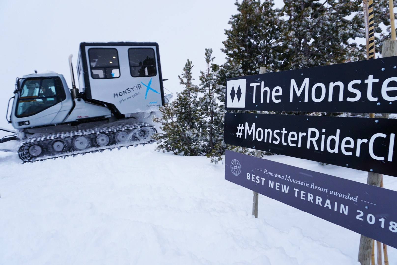 Panorama Mountain Catskiing Powder Highway Monster Terrain