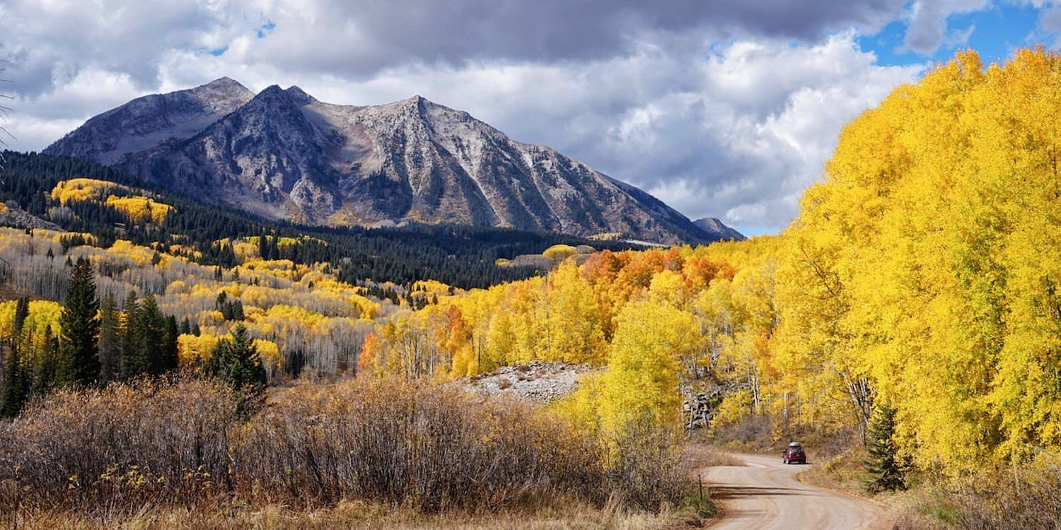 Crested Butte Kebler Pass best Fall Foliage in the western US & Canada