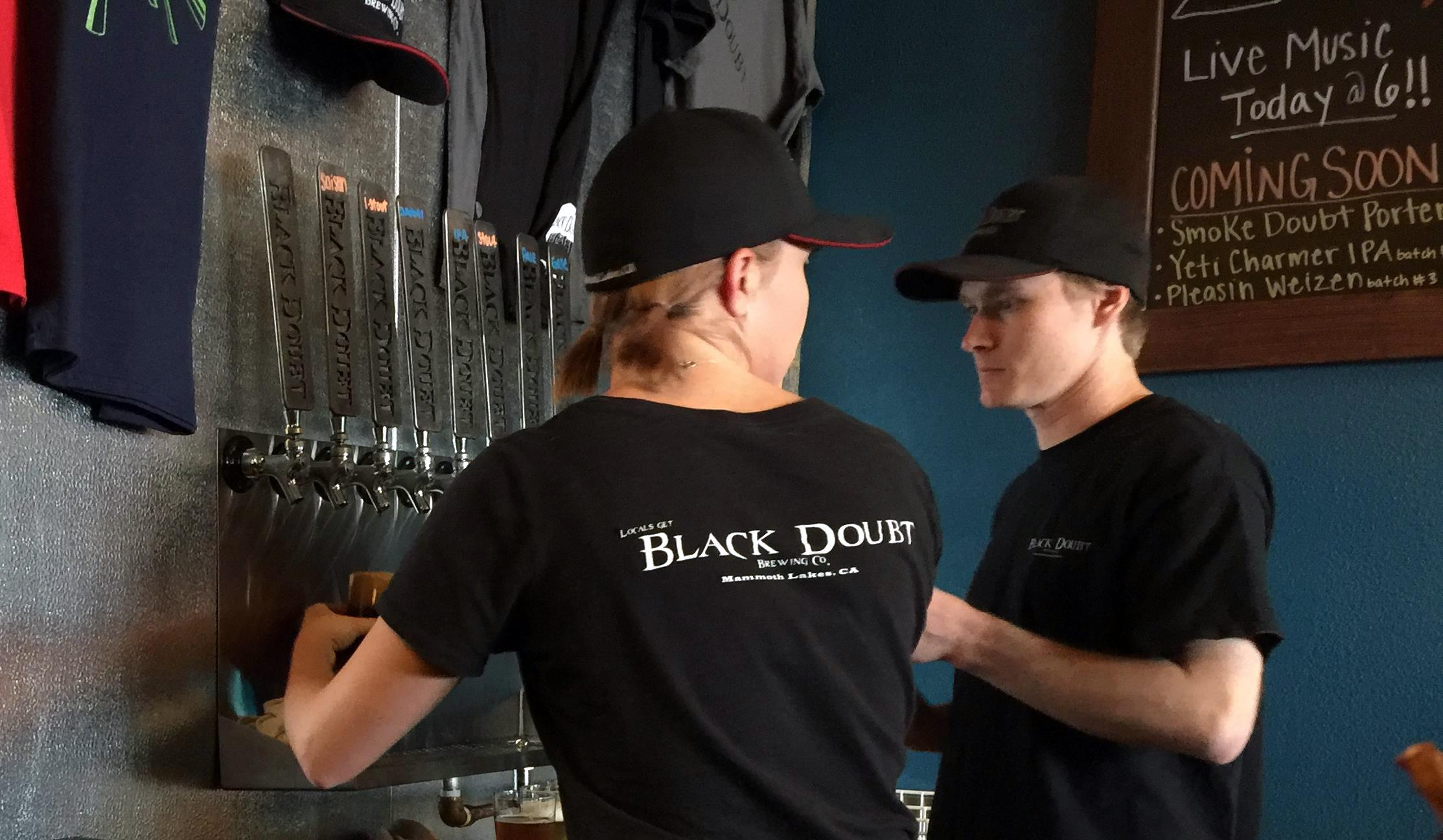Black Doubt Brewing Mammoth Lakes California