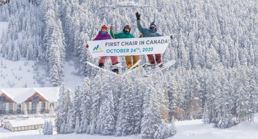 Mt Norquay Opening Day 2020
