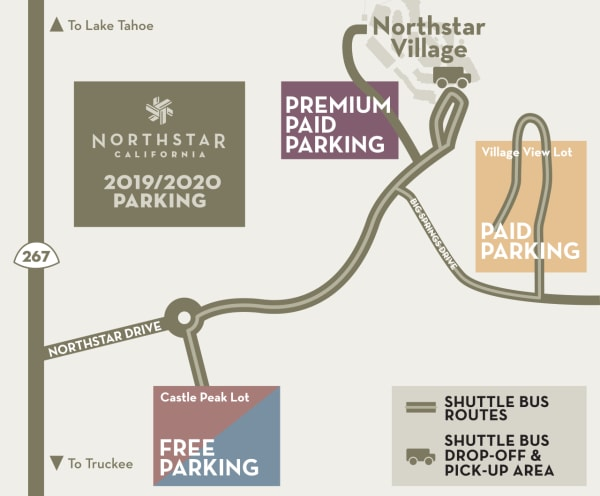 Paid Parking Northstar