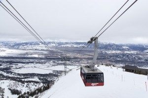 Jackson Hole Tram Winter