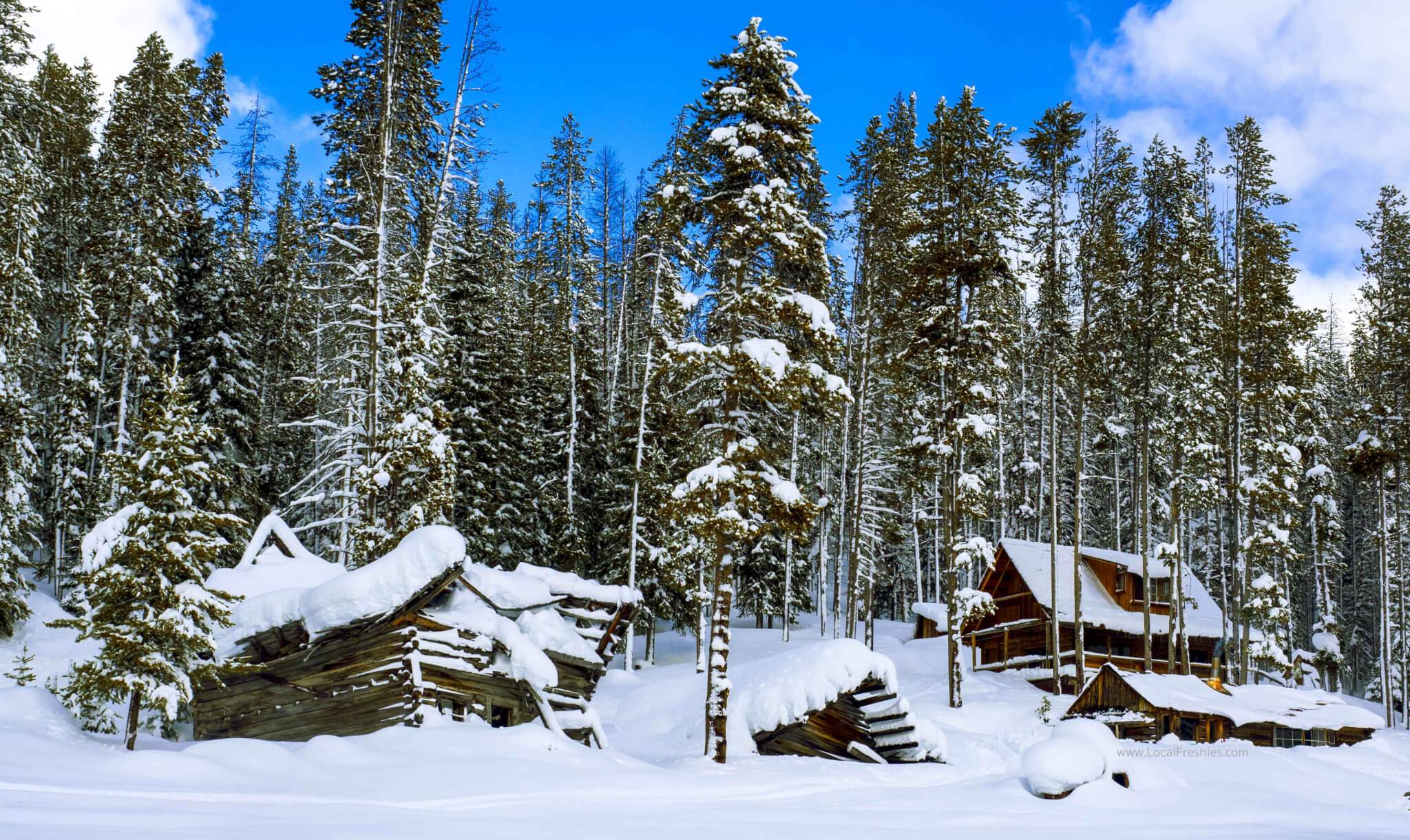 Burgdorf Hot Springs in the Payette National Forest near Brundage Resort by McCall Idaho