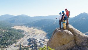 Best Via Ferrata in the United States Squaw Valley California