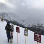 Jaime Pirozzi at June Mountain with Wi-Me Return of the Shredi snowboard made in the USA