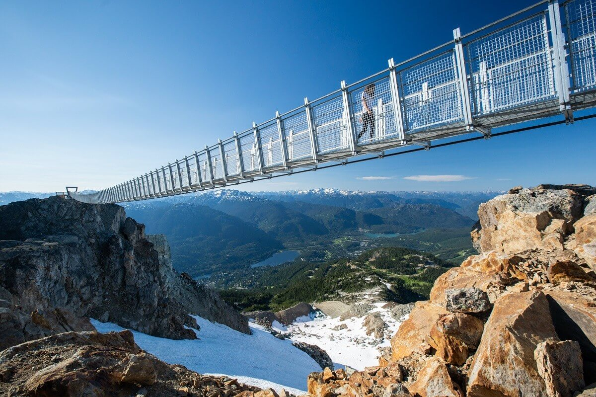 Summer Fun Idea - Cloudraker suspension bridge in Whistler