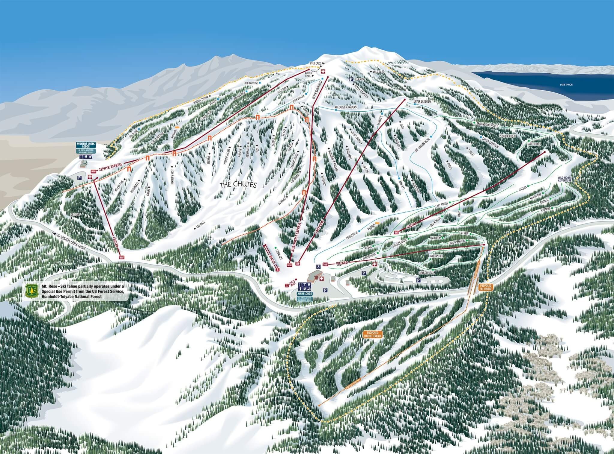 2020 Mt Rose ski resort expansion