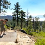Zephyr Cove disc golf course in Lake Tahoe California