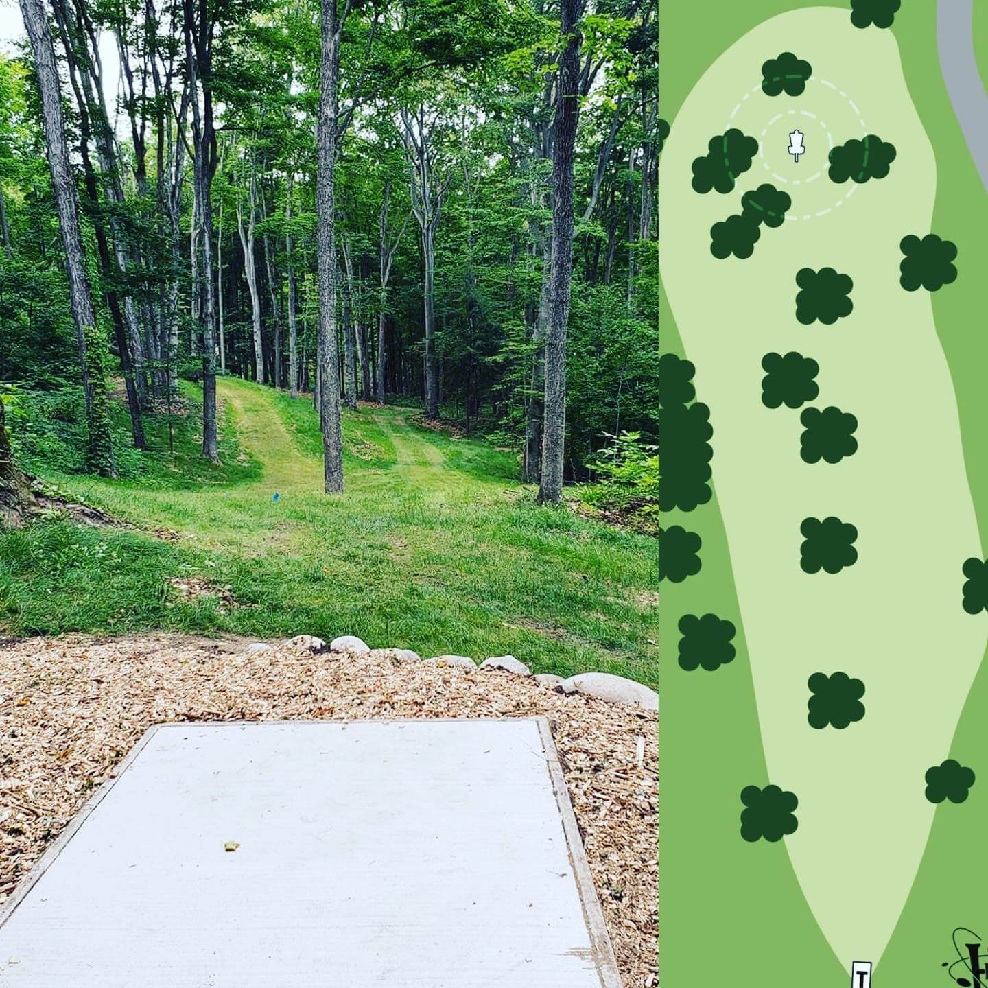 Hickory Hills Disc Golf Course in Traverse City Michigan