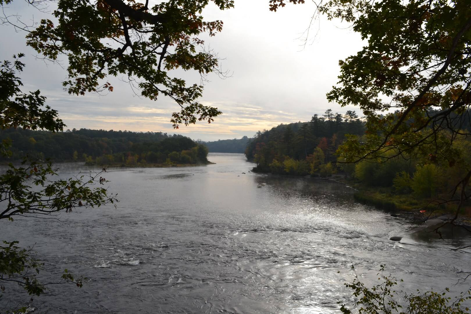 Kennebec River in Maine