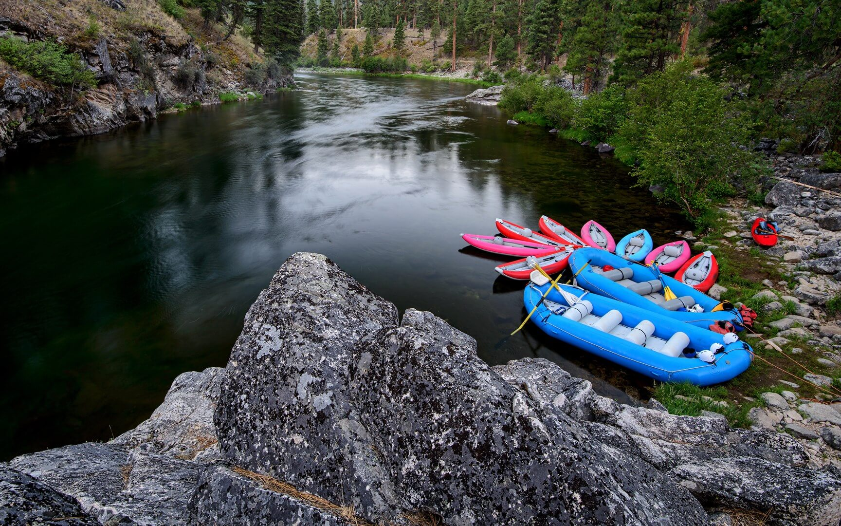 best whitewater rafting in the us Salmon River near Riggins Idaho