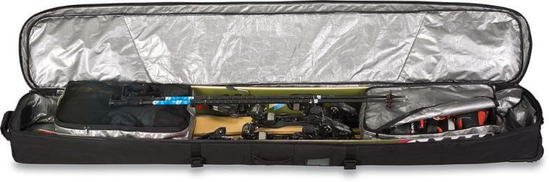 Ski Roller Bag to help with a ski trip packing list