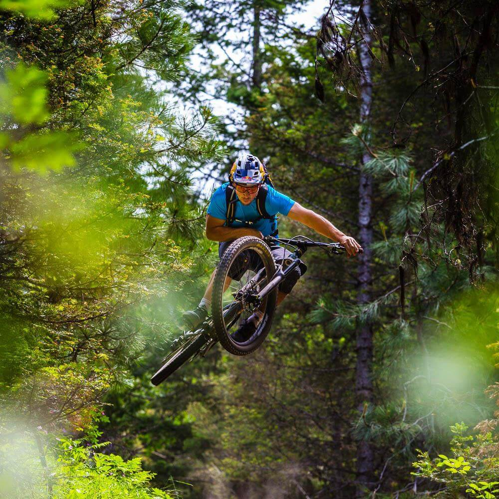 Mountain biking at Jug Mountain Ranch one of the many things to do in McCall Idaho