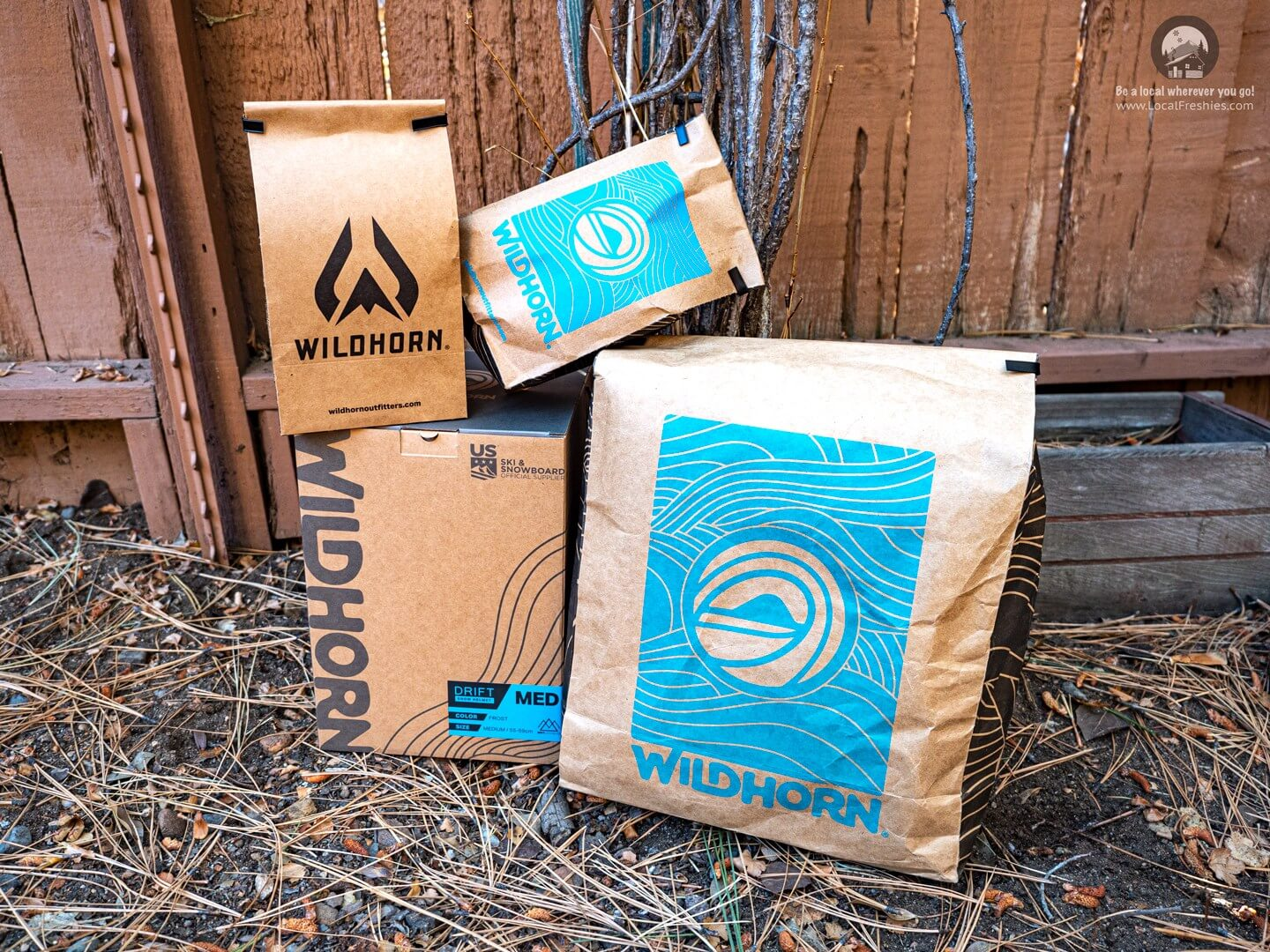 Wildhorn Outfitters Packaging Of Their Products
