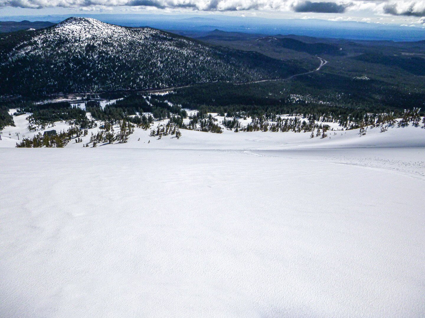 corn snow at Mt Bachelor in May
